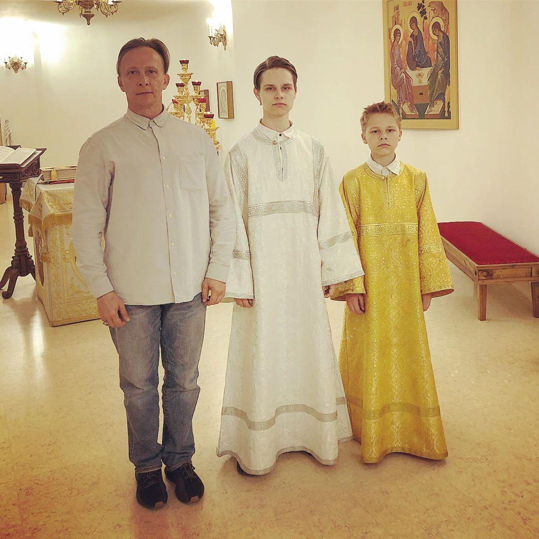 Иван Охлобыстин сын Василий сын Савва