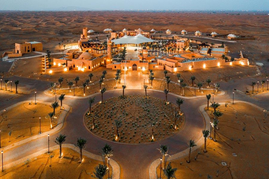 Курорт-оазис в пустыне Шарджа