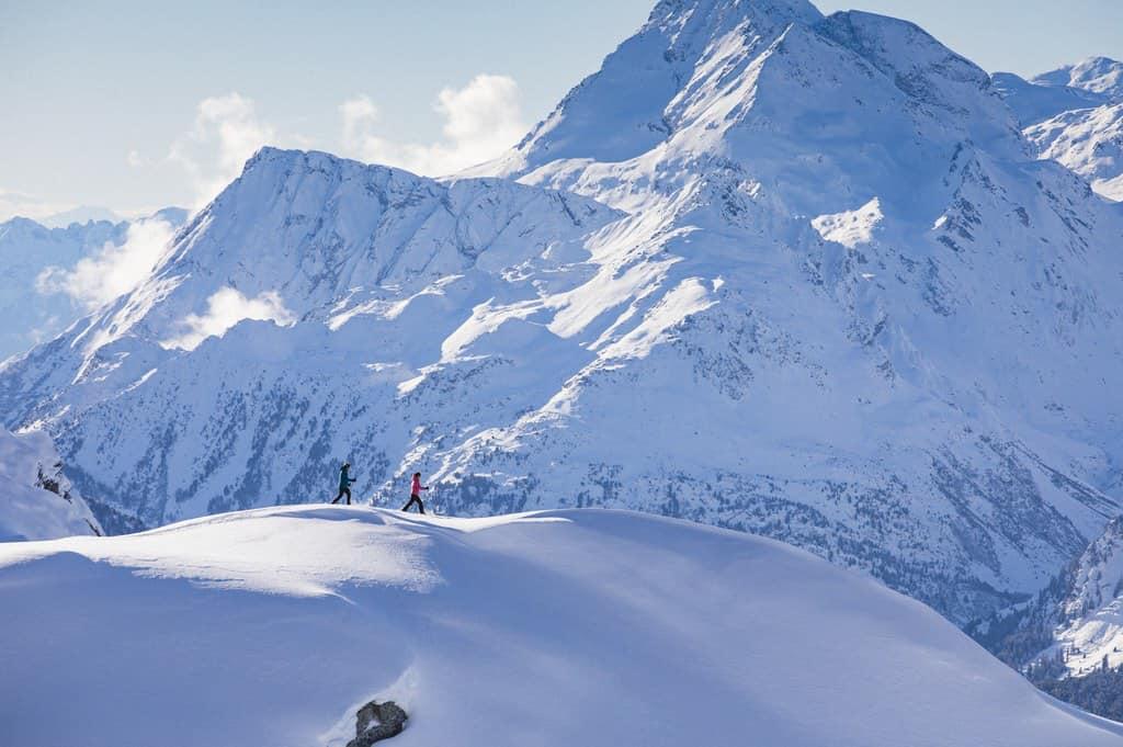 Швейцария горные лыжи