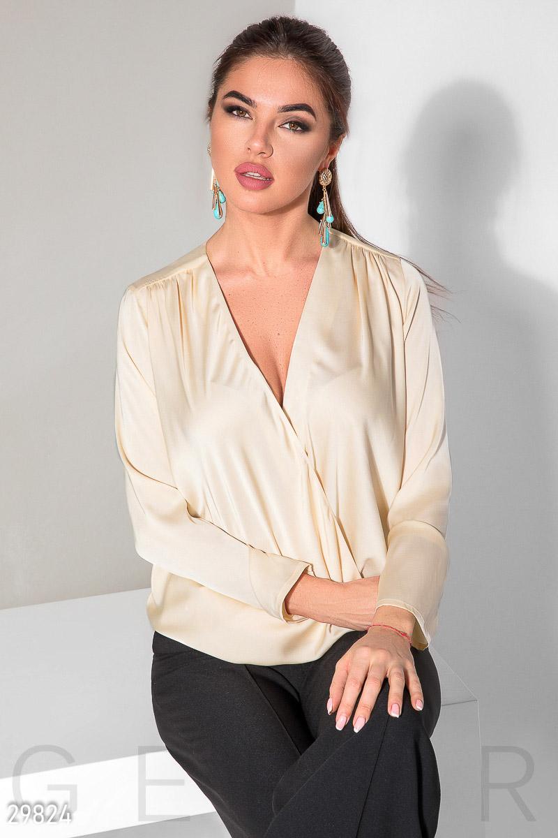 блузка гепюр шелк