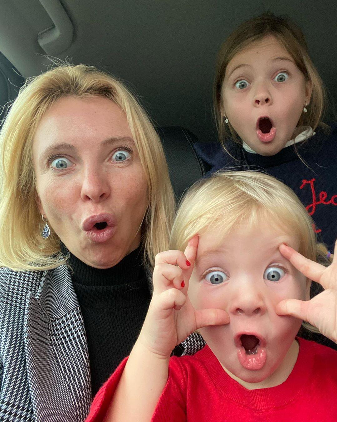 Татьяна Тотьмянина дети