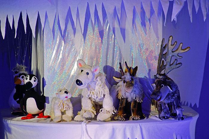 Проделки снежной Холодуньи