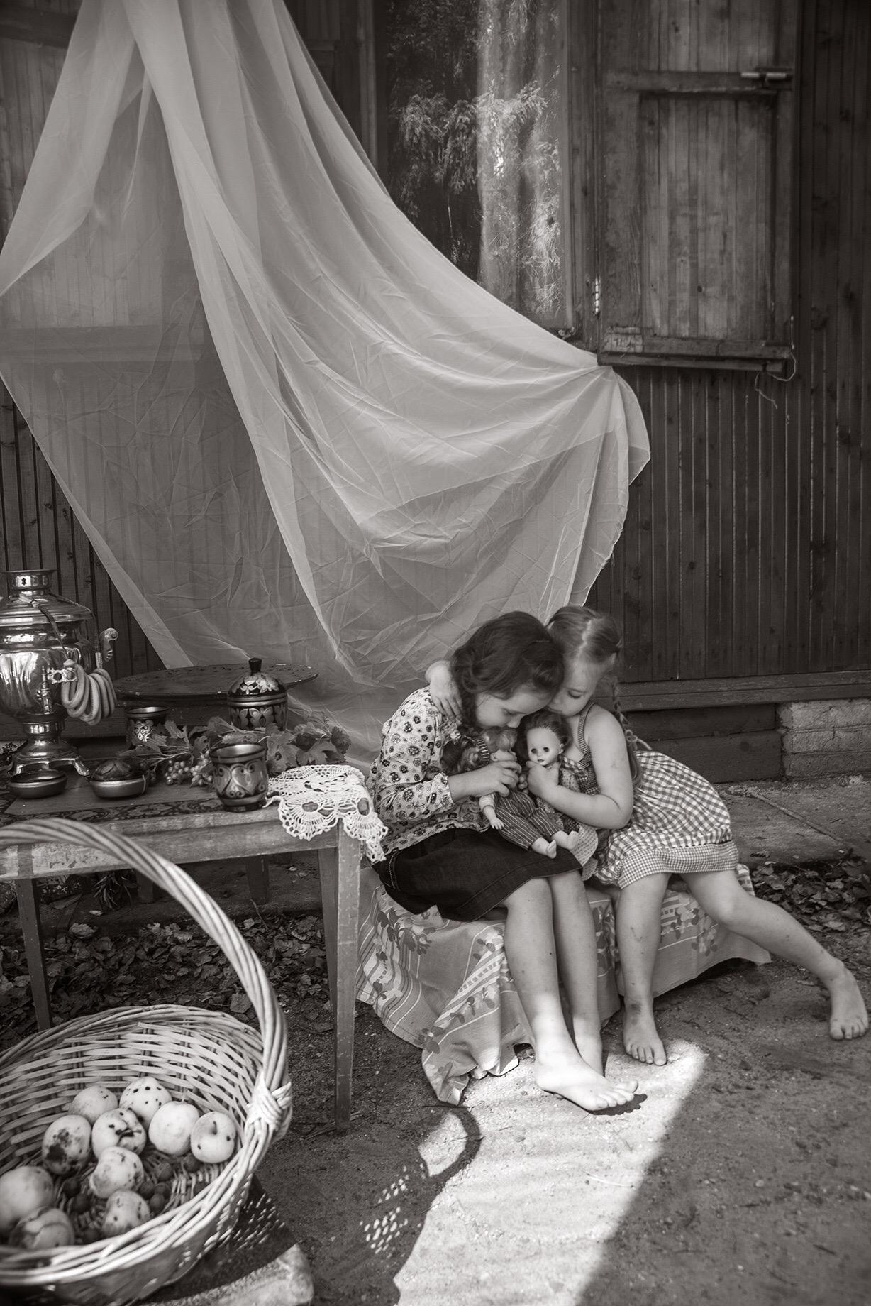 дочки-матери. Время игр