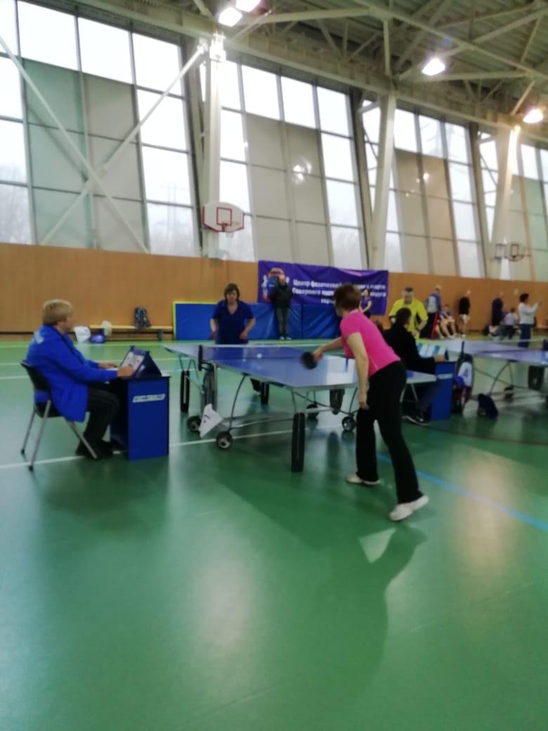 Окружные соревнования по наст.теннису 2019