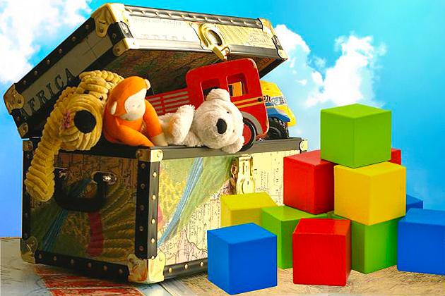 Продавец игрушек