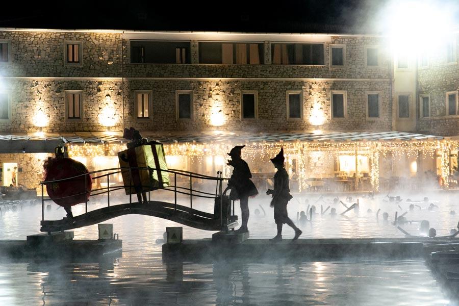Тоскана: Новый год в термальном бассейне