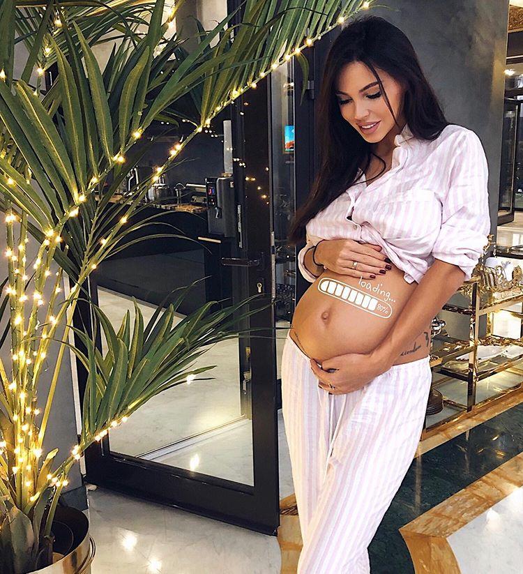 Оксана Самойлова четвёртая беременность