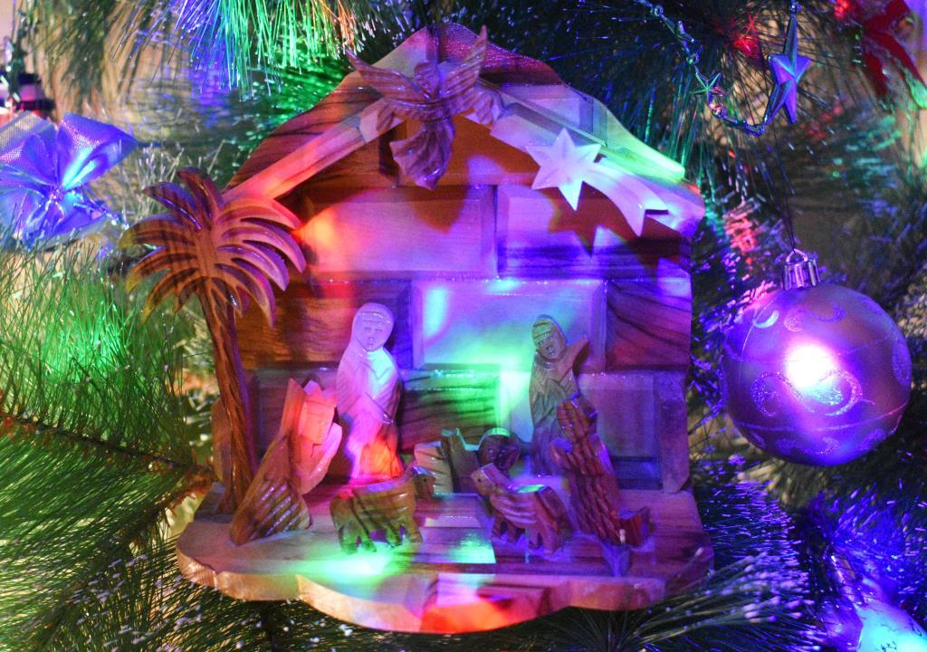 Рождественская мистерия. Блиц: из дерева