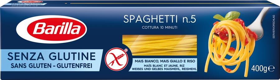 Безглютеновые спагетти с тунцом, цукини и соусом базилико
