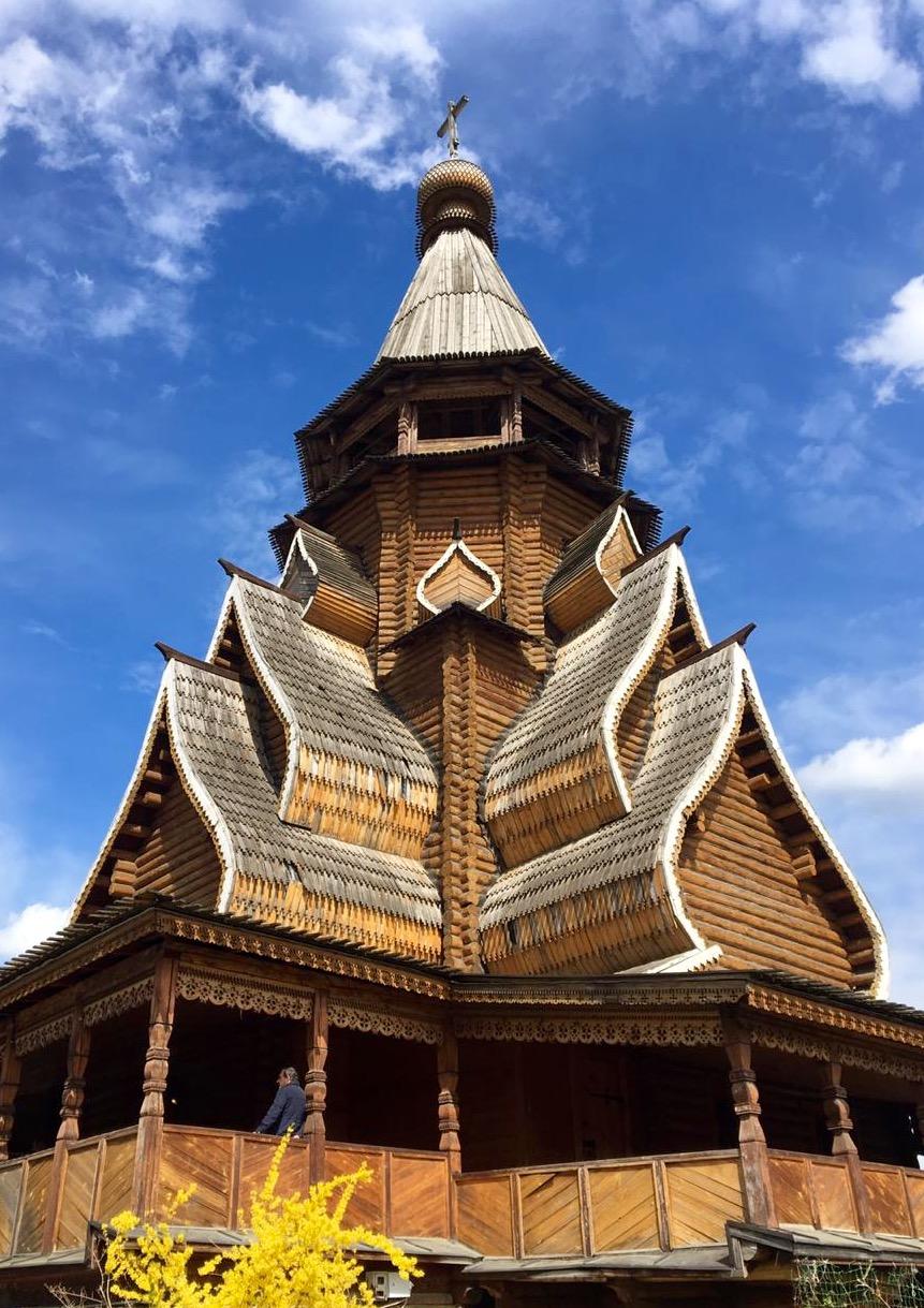 Русское деревянное зодчество. Блиц: из дерева