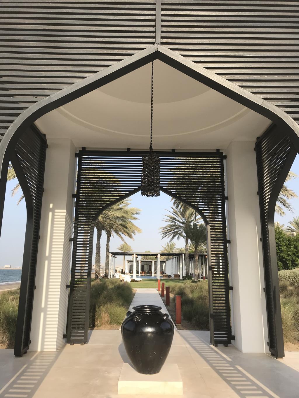 Оман отель Chedi Muscat