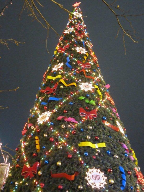 Ёлка в центре Москвы. Блиц: очарование Нового года