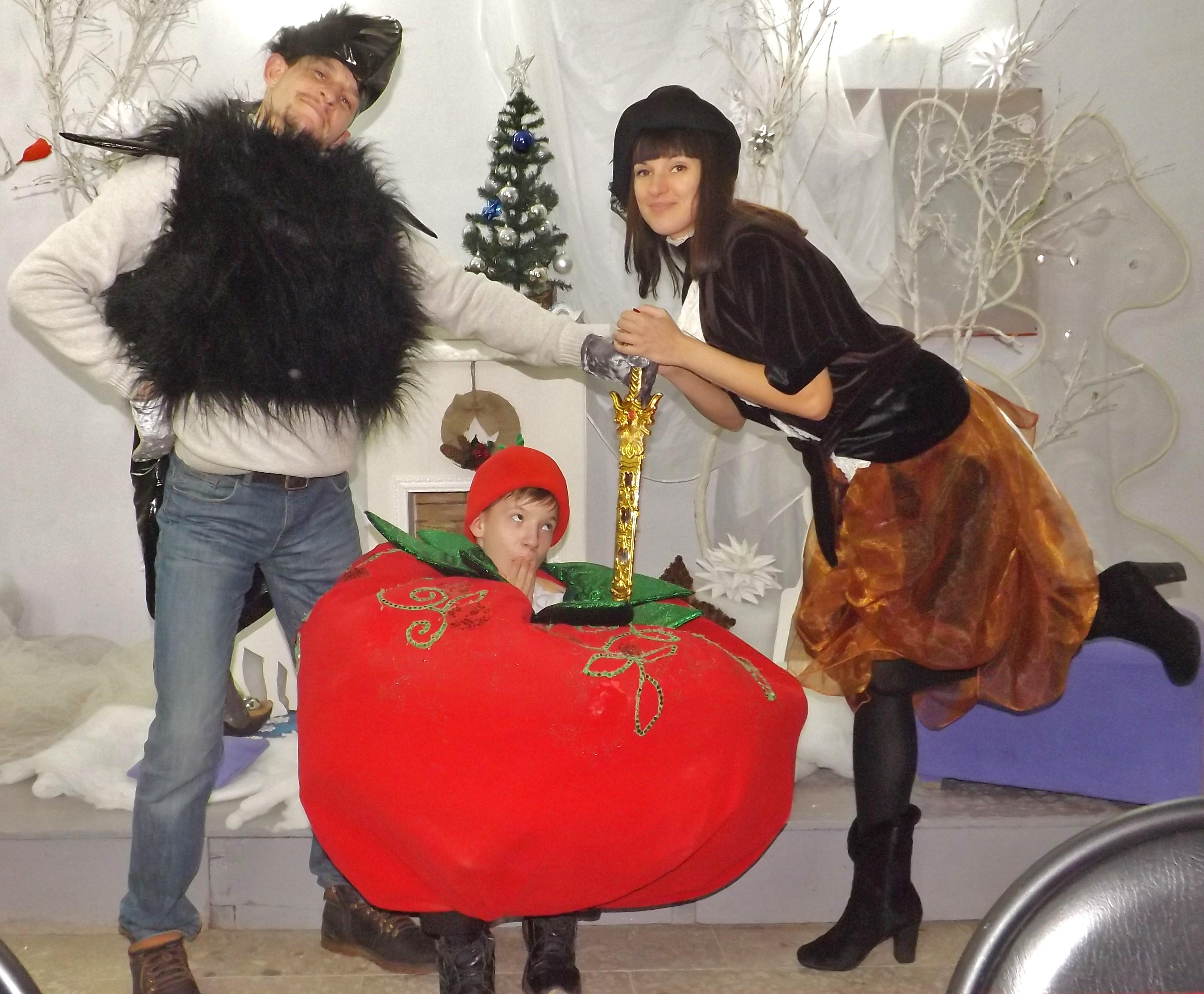 Мышиный Король и Сызранский Помидор:противостояние. Новогодние каникулы