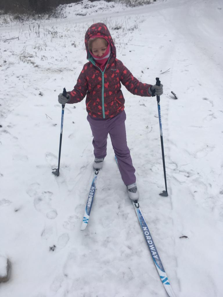 У нас в лесу главный транспорт - лыжи!. Новогодние каникулы