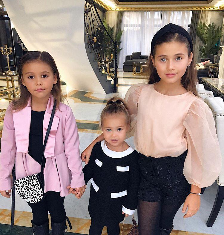 Дети Джигана и Оксаны Самойловой