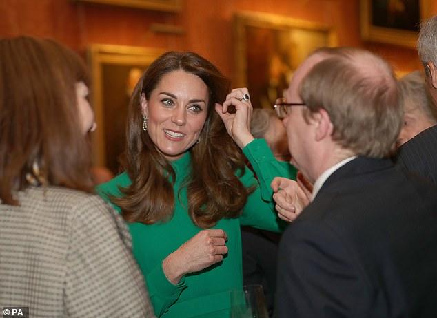 Кейт Миддлтон Букингемский дворец