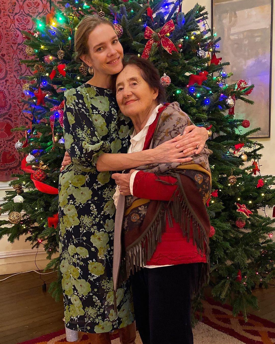 Наталья Водянова бабушка