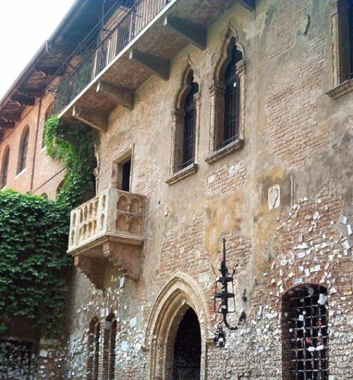 Дом Джульетты, Италия