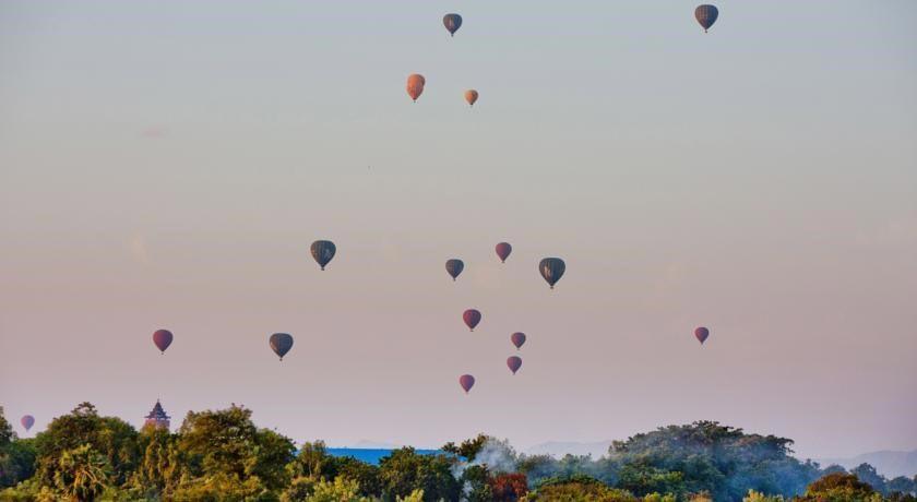 Воздушные шары над Баганом, Мьянма