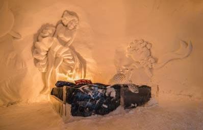 Снежный отель в Киркенесе, Норвеги