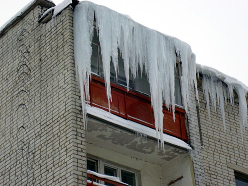 Ледяные жалюзи. Блиц: лед