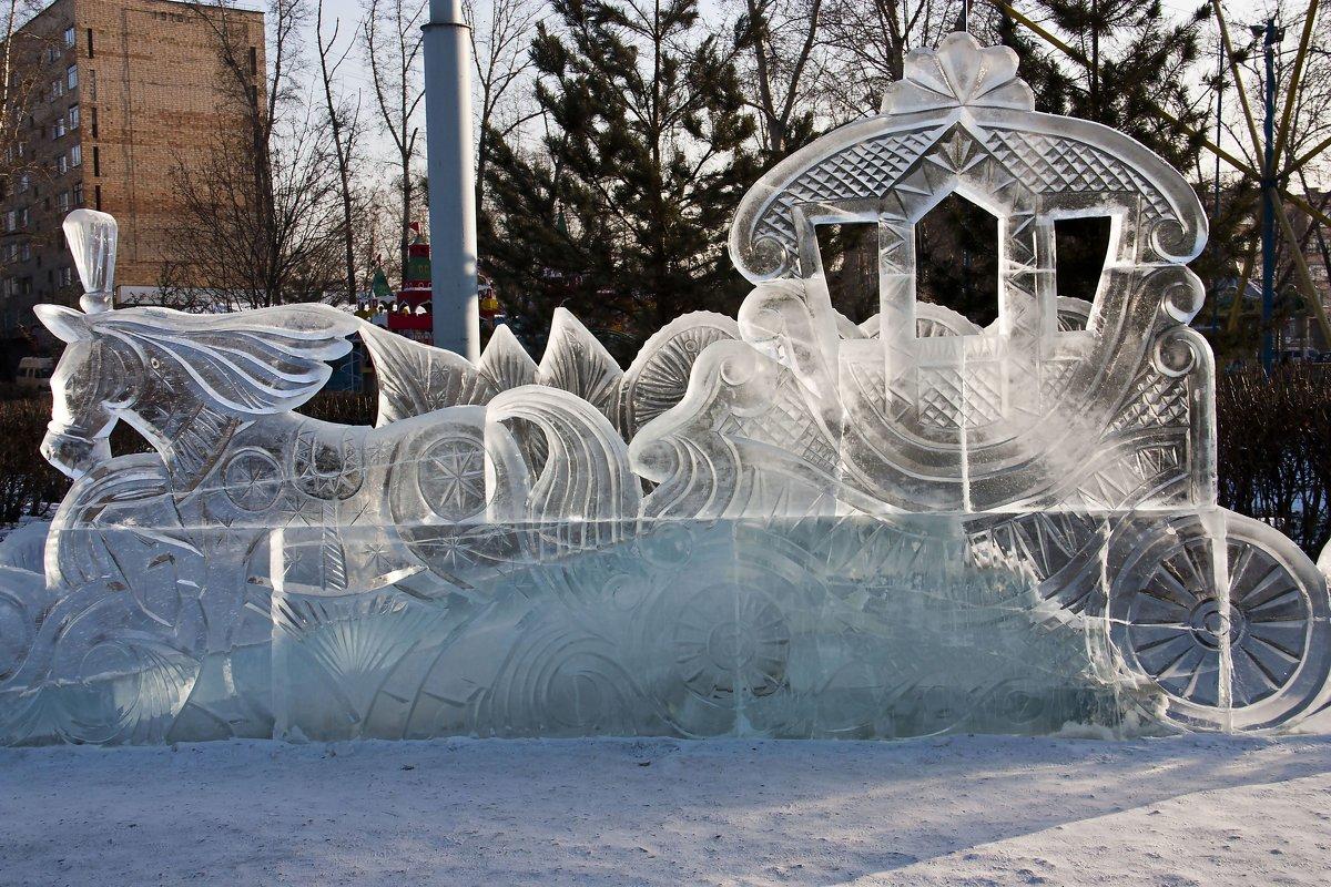 Ледяная красота . Блиц: лед