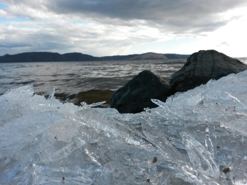 Лед на Волге. Блиц: лед