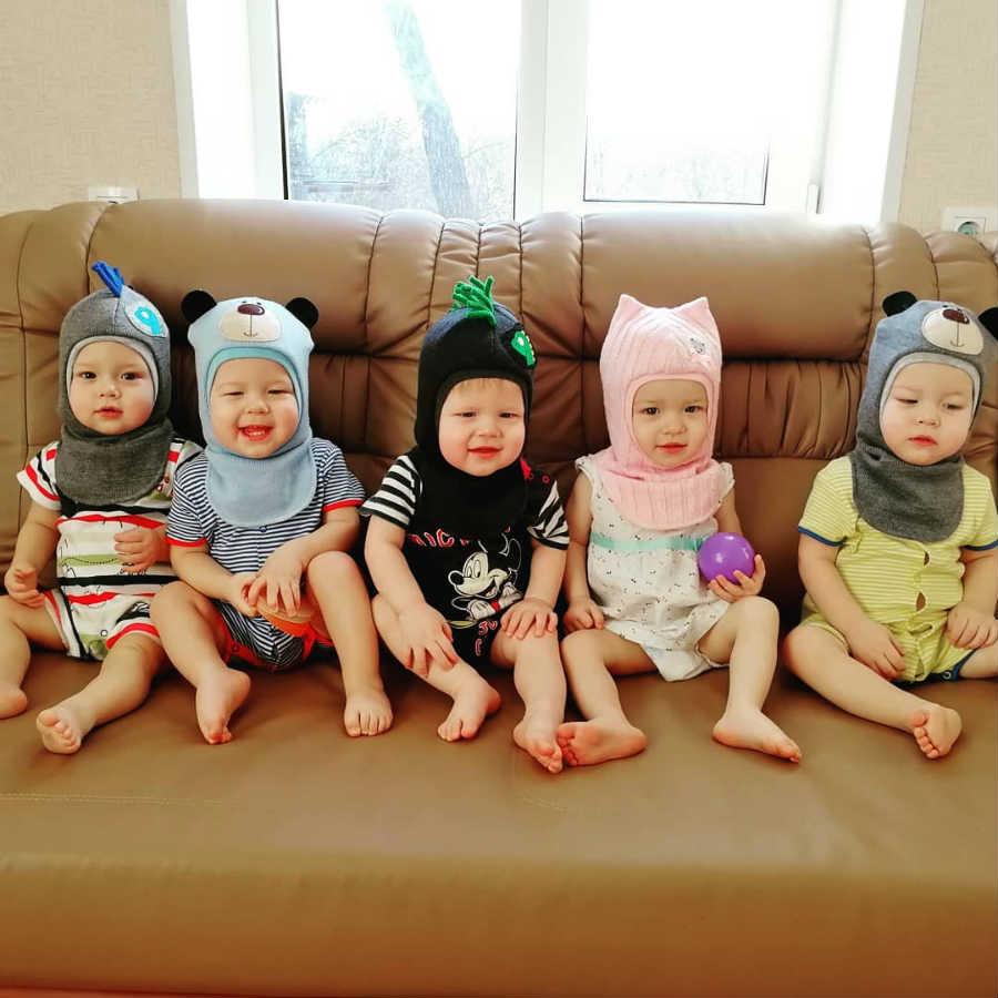Пятеро близнецов