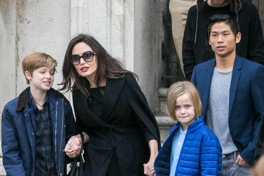 Анджелина Джоли Шайло Нувель и другие дети Питта