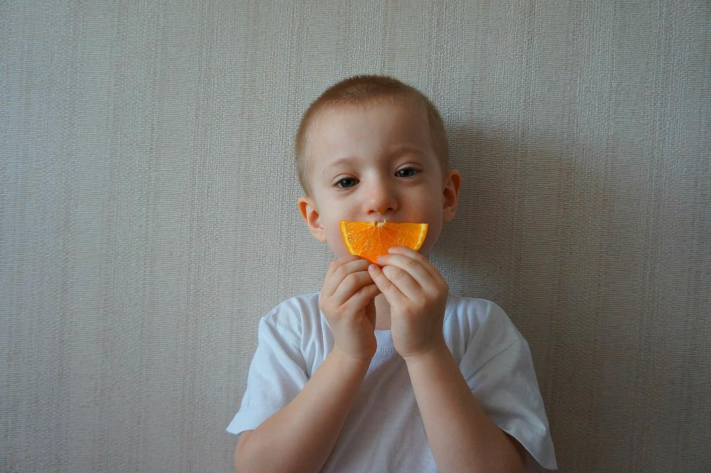 Апельсиновое настроение. Наши дошколята