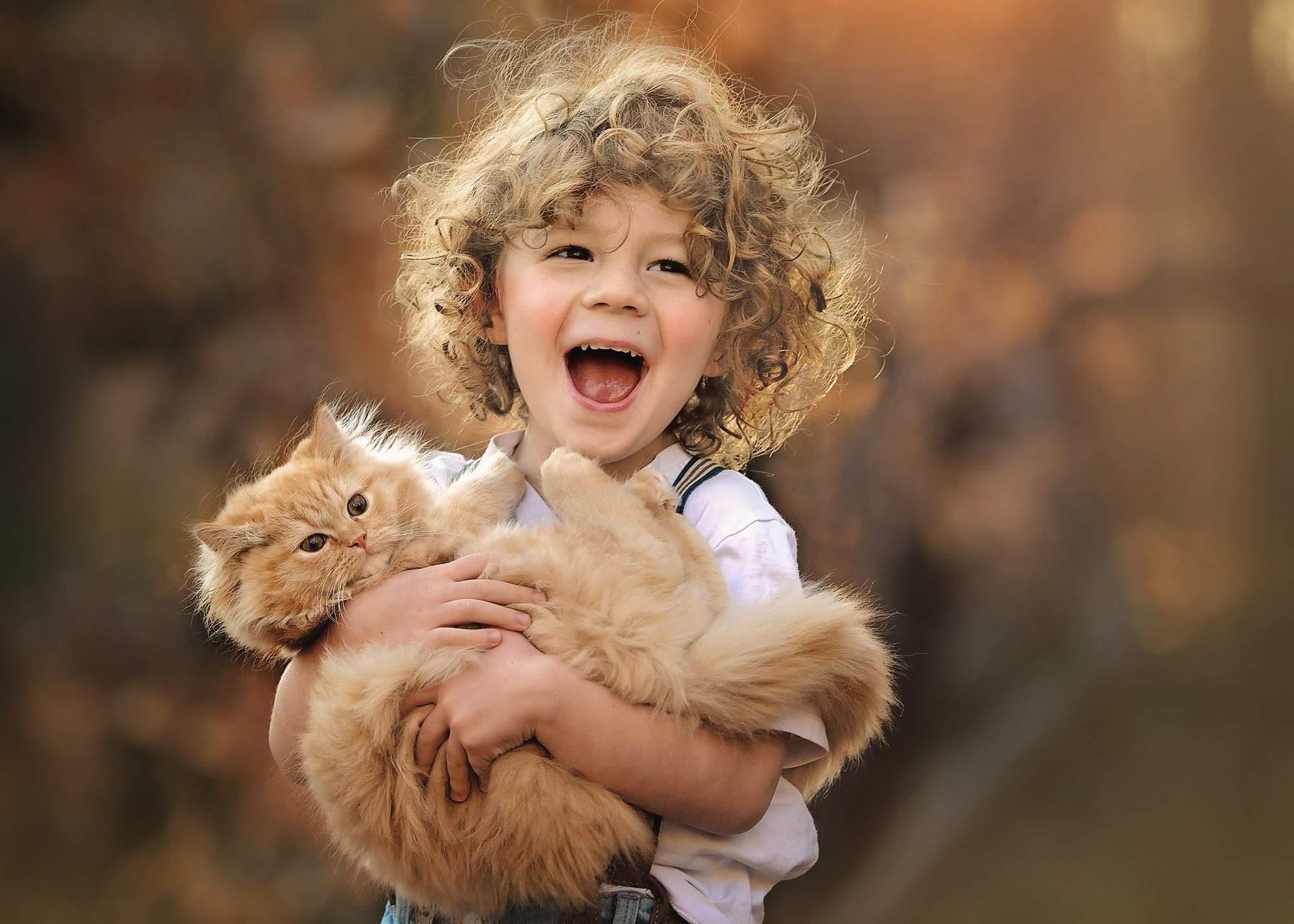 Счастье - это дружба с животными. Счастье есть!