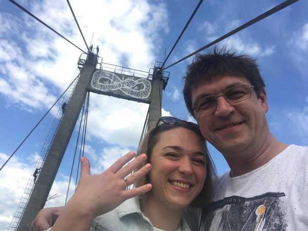 Дмитрий Орлов с женой