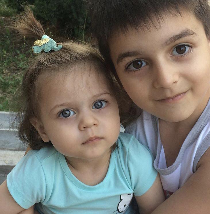Маратик и Софья . Наши дошколята
