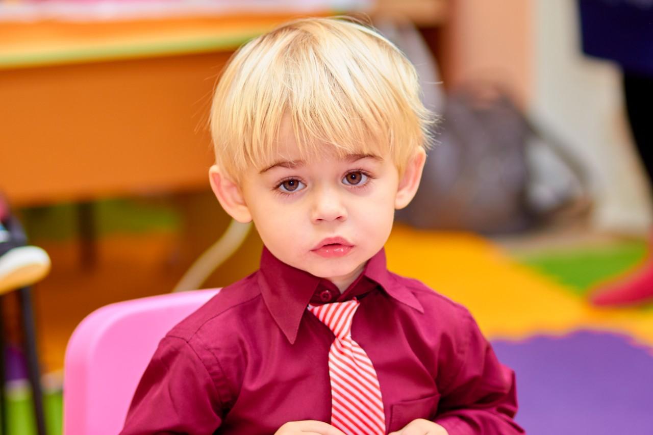 Маленький джентельмен . Наши дошколята