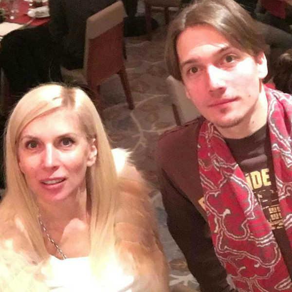 Алена Свиридова и сын Василий