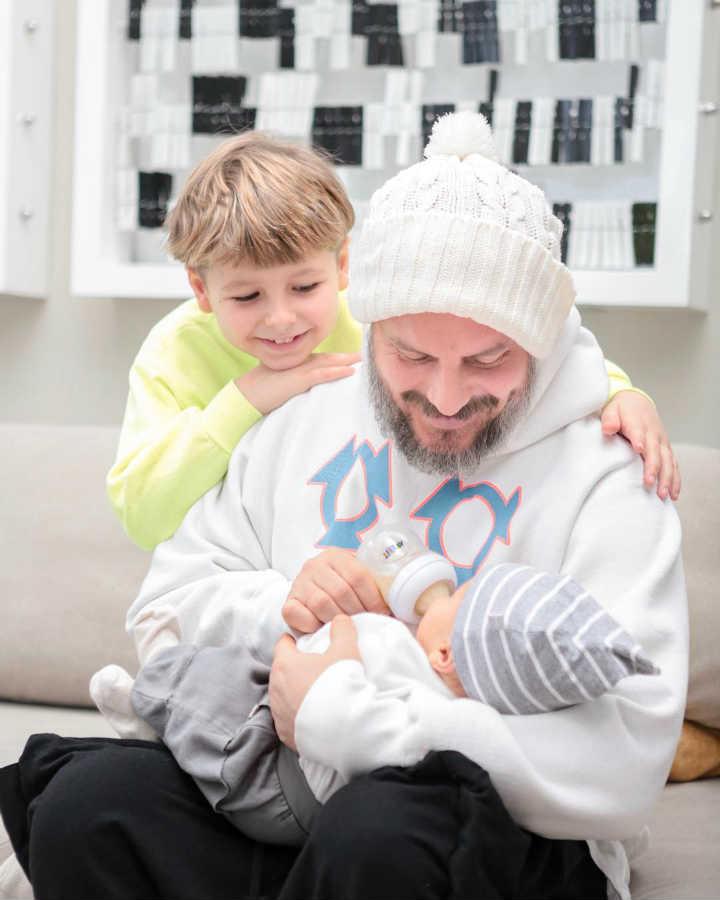 Муж и дети Ирены Понарошку