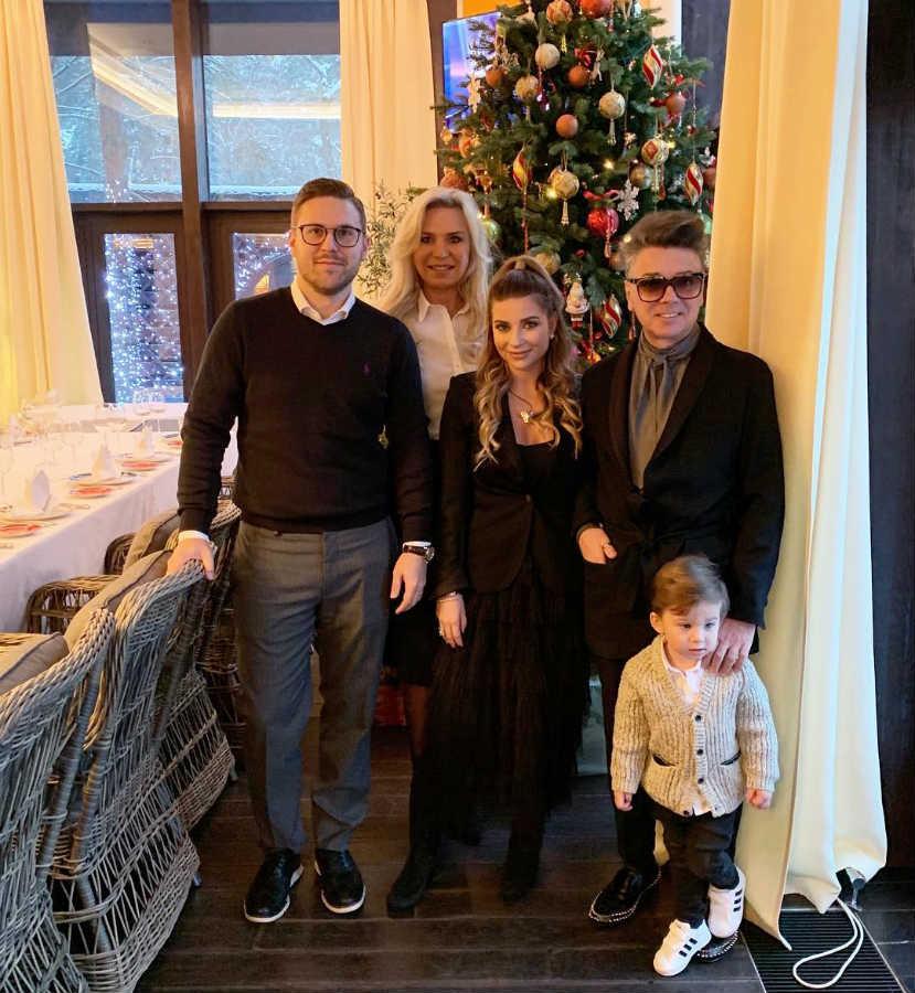 Валентин Юдашкин семья