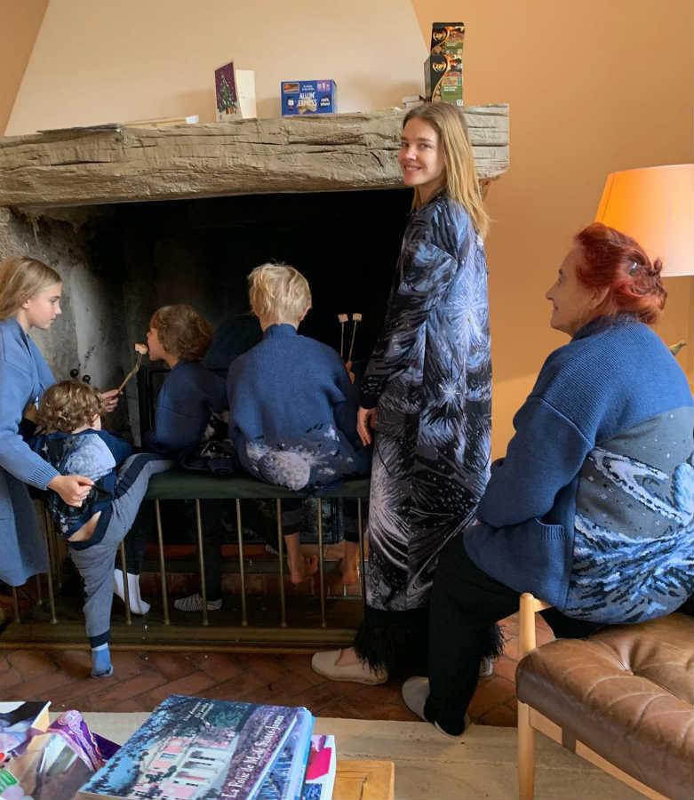 Наталья Водянова младшие дети