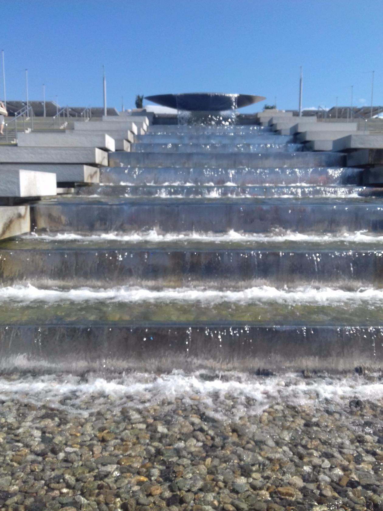 Сочи. В Олимпийском парке. Блиц: лестницы