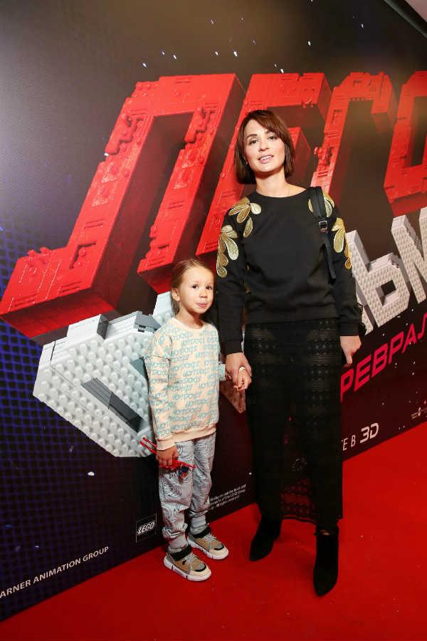 Ирина Муромцева с дочкой