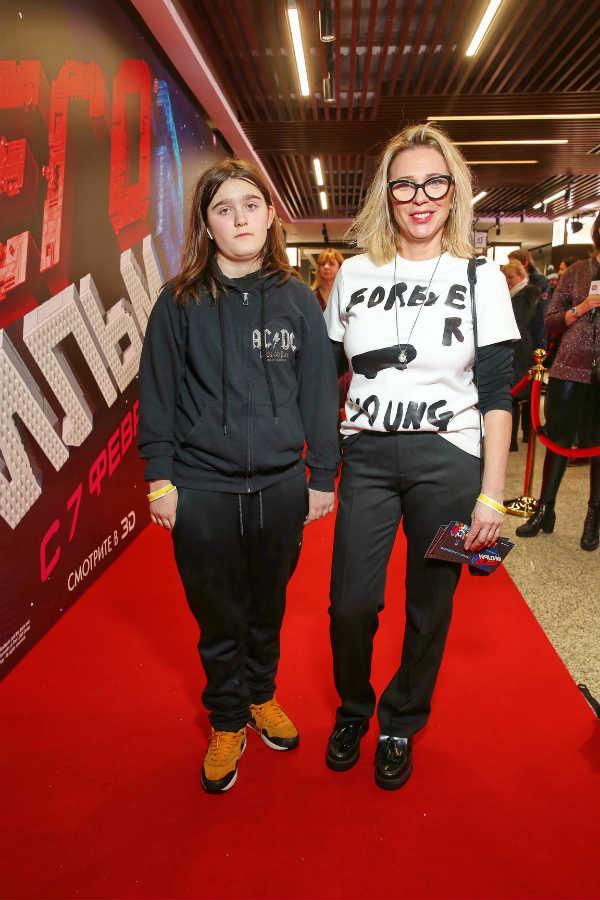 Рита Митрофанова с дочерью