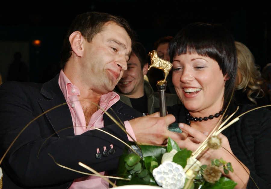 Константин Хабенский и Анастасия Смирнова