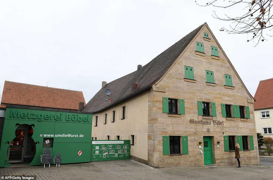 Колбасный отель в Германии
