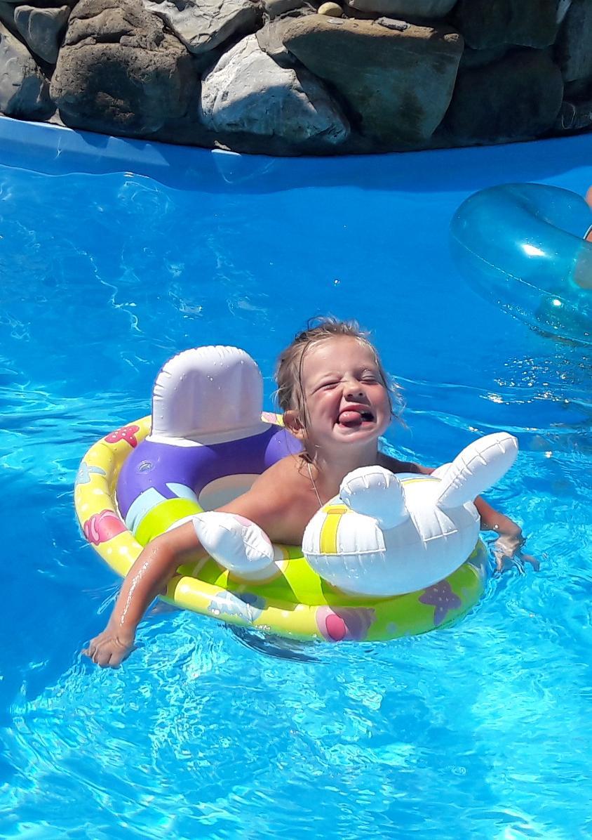 Жизнь хороша,когда плывешь не спеша.... Наши дошколята
