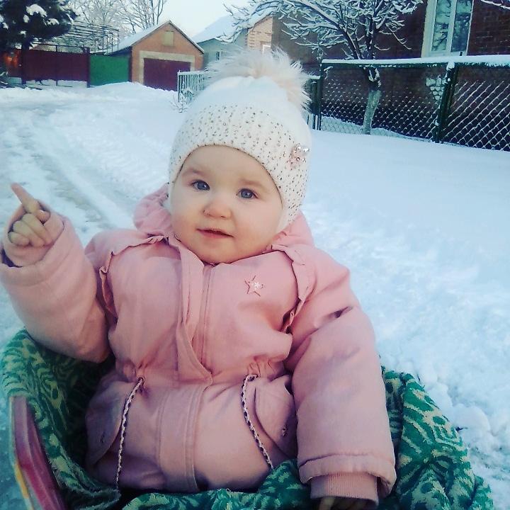 Любовь к снегу. Наши дошколята