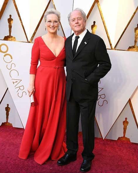 Мэрил Стрип с мужем