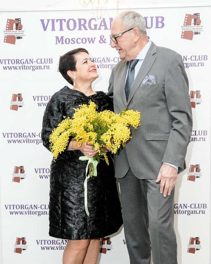 Эммануил Виторган с женой Ириной Млодик