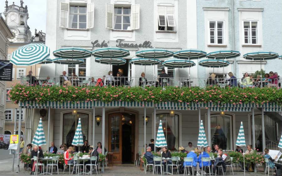Кофейня в Зальцбурге