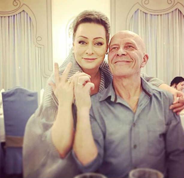Мария Аронова с мужем