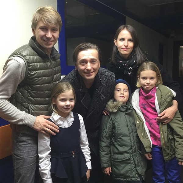 Сергей Безруков дети
